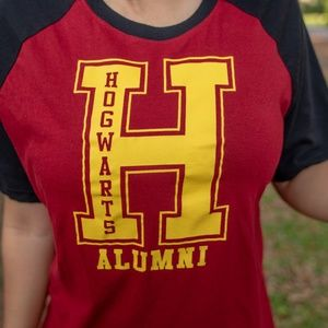 Harry Potter Hogwarts Alumni T-shirt Top